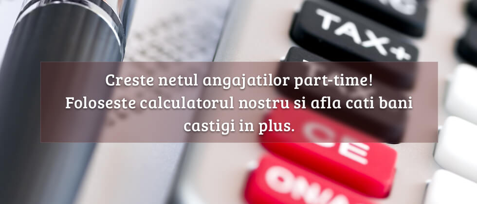 Calculator salarii part-time